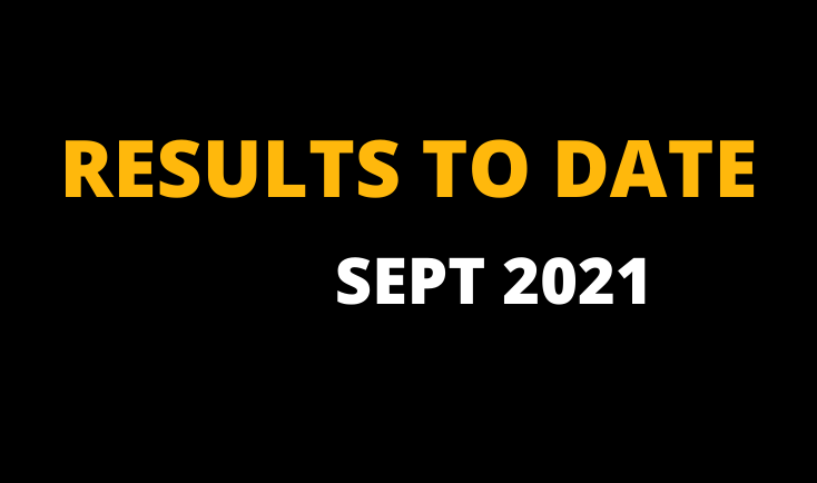 LAY TIPS RESULTS SEPTEMBER 2021