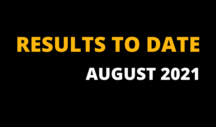 LAY TIPS RESULTS AUGUST 2021